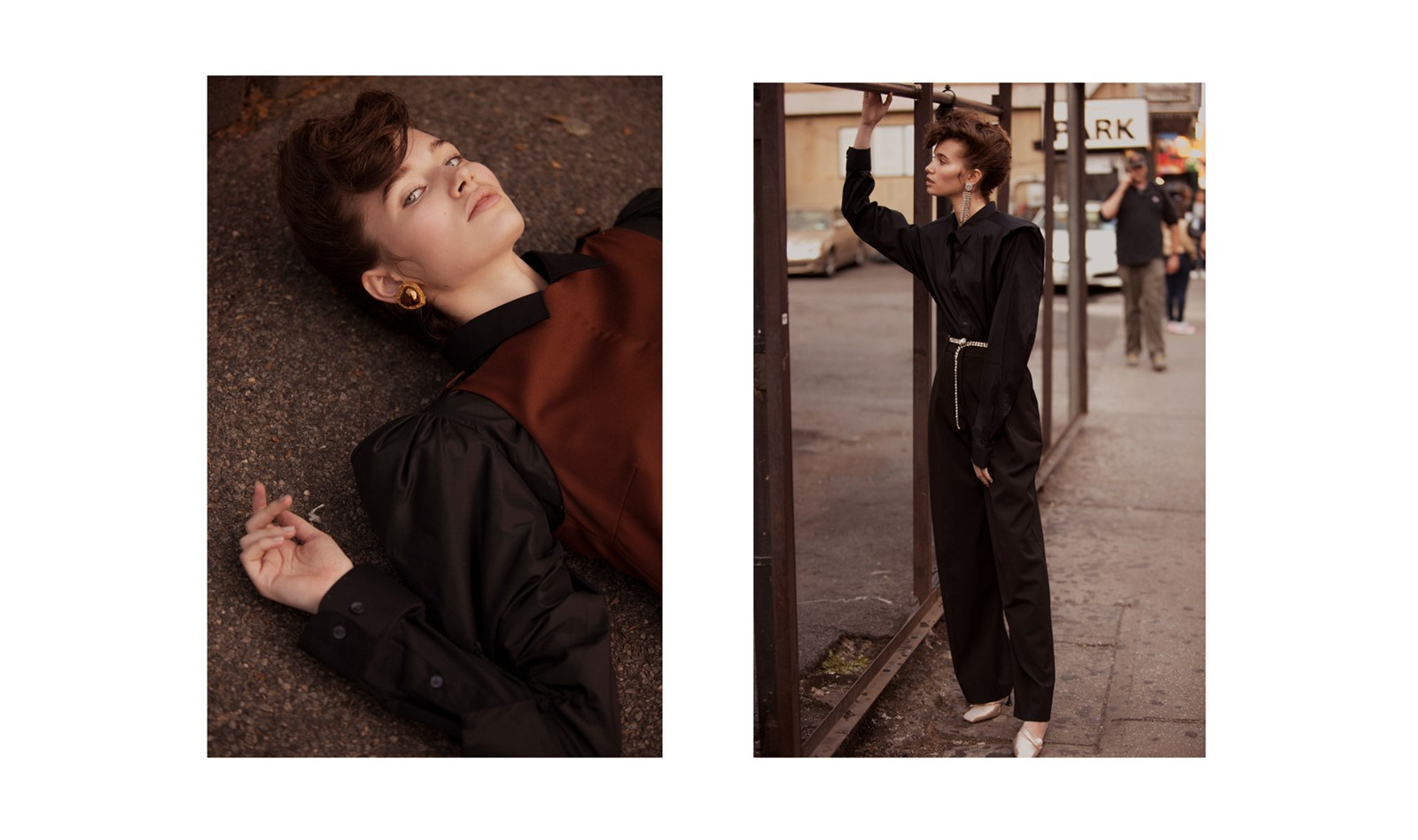 Latest editorial up on BLKonBLK (click the image to go to the full shoot x)