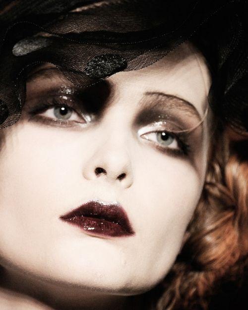 John Galliano period inspired makeup