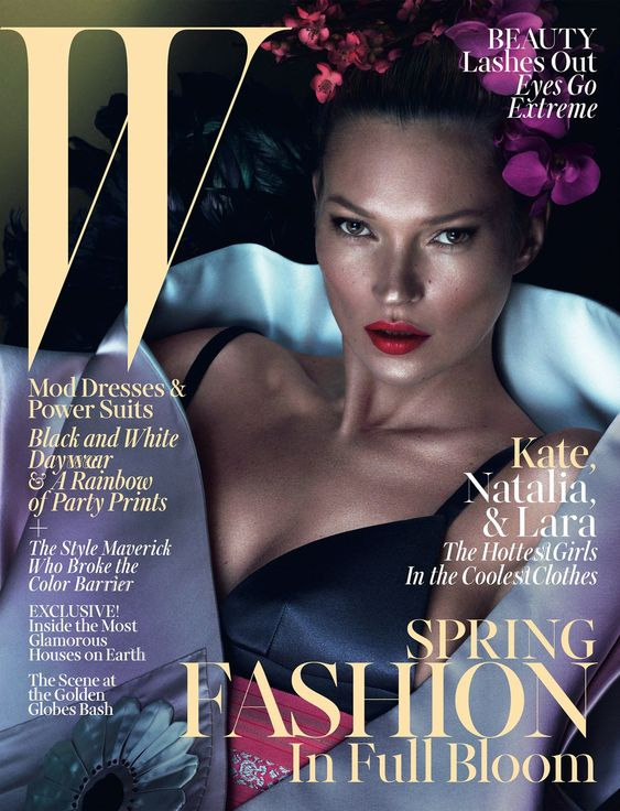 W Mag 2013 Kate Moss