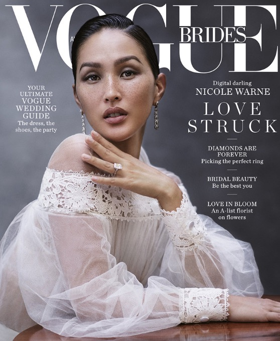 Read the latest on Bridal Beauty in this Vogue Brides interview with The Future Mrs Creative Director, Casey Gore.
