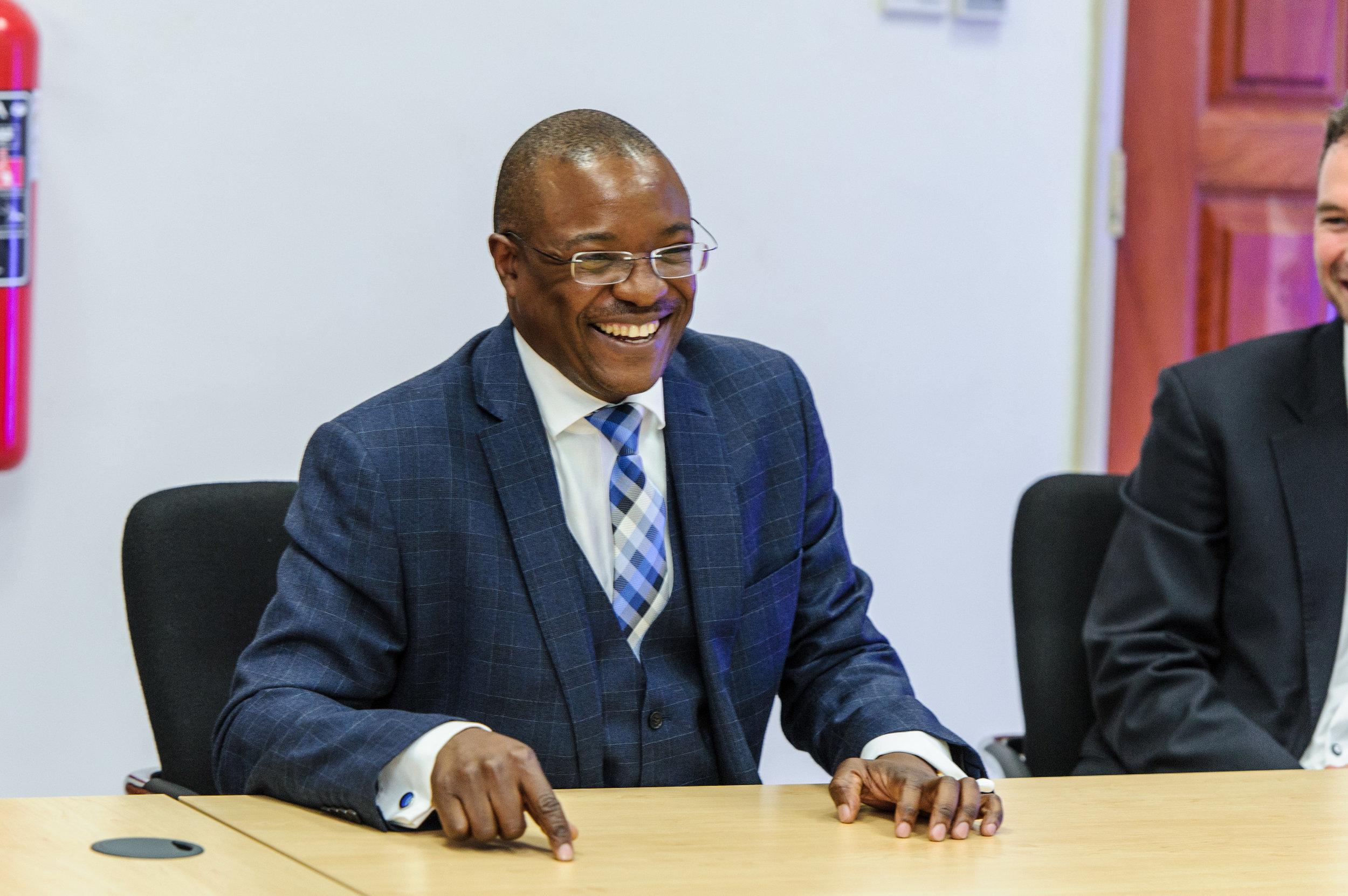 Jason Kazilimani, CEO and Senior Partner, KPMG Zambia