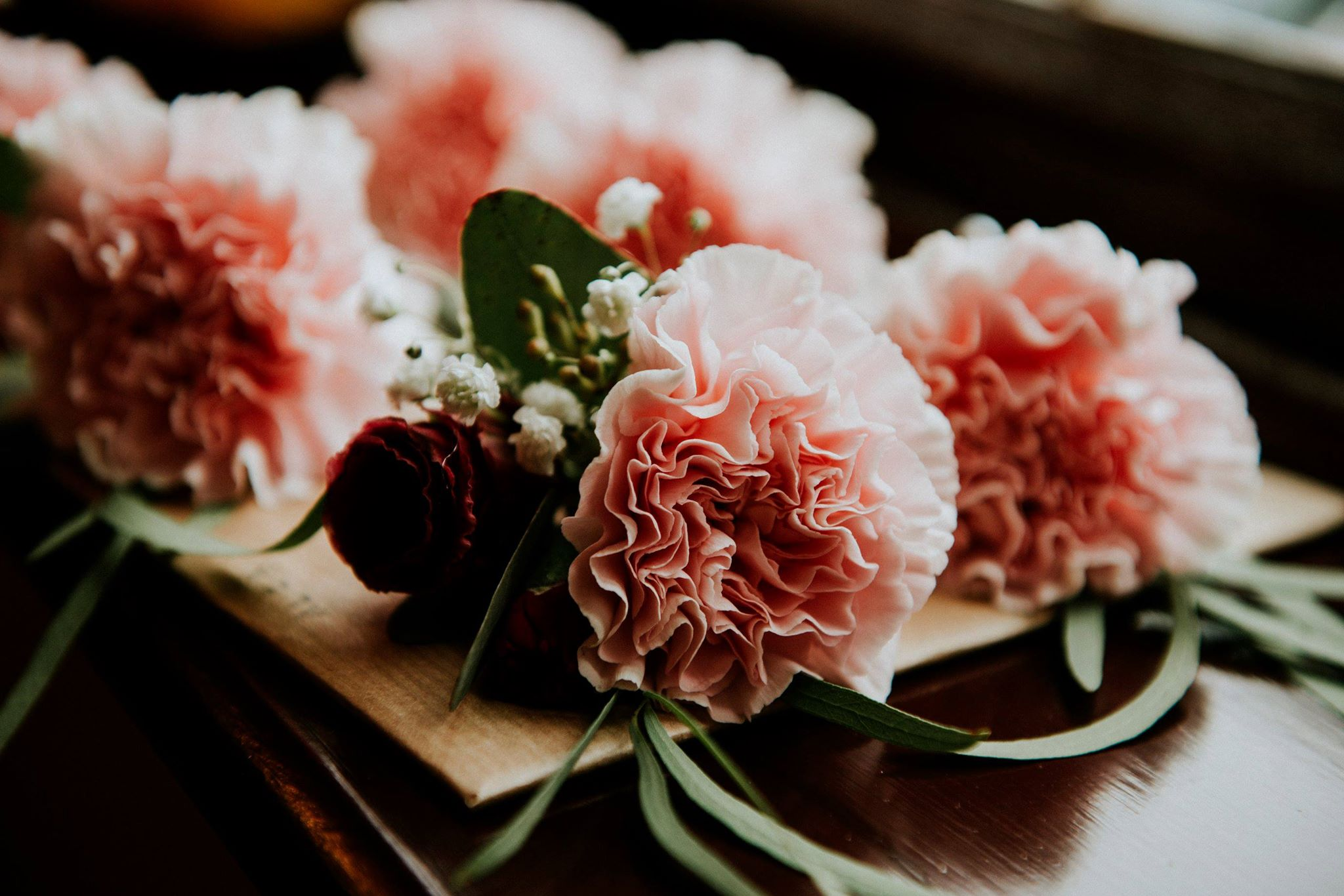 Pink and Burgundy Buttonholes.jpg
