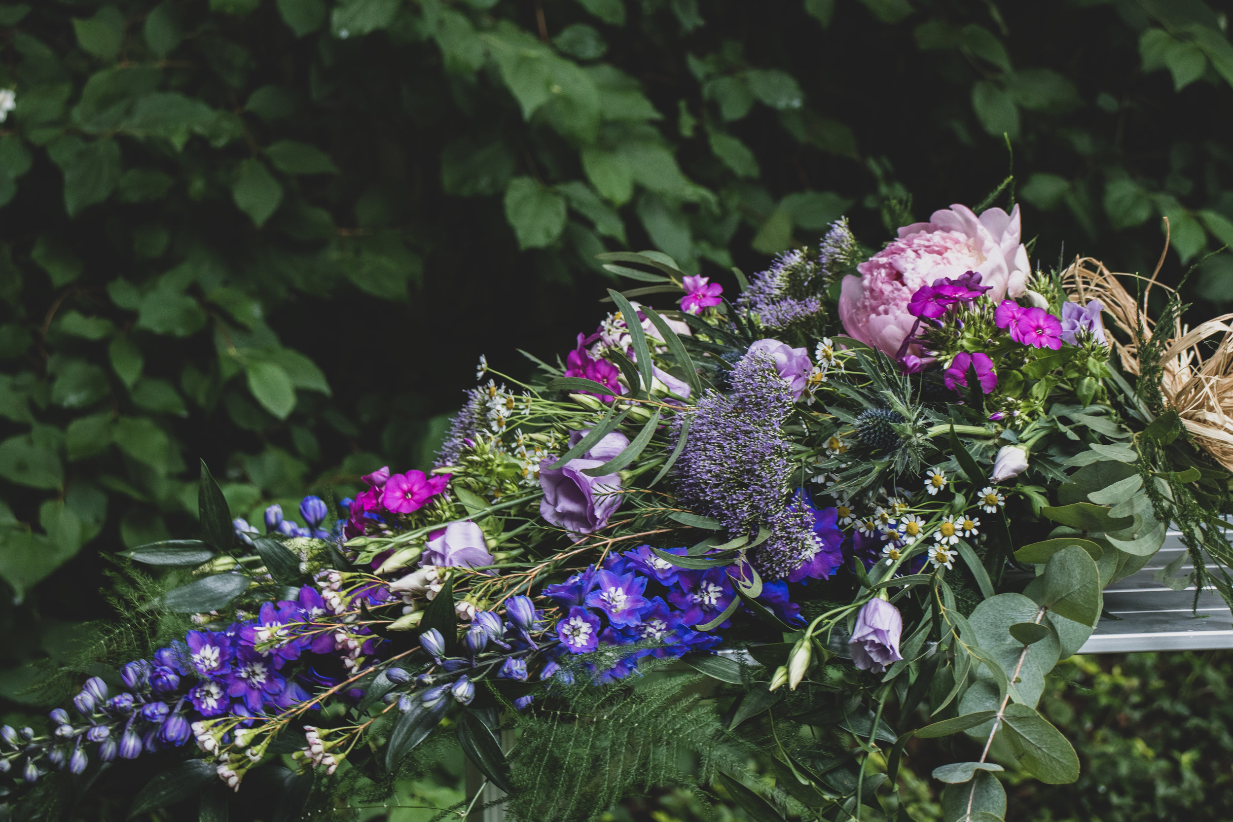 Rustic Funeral Sheaf - Blue, Pink and Purple.jpg