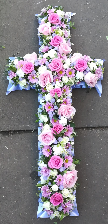Funeral Cross Tribute - Pink and Purple.jpg
