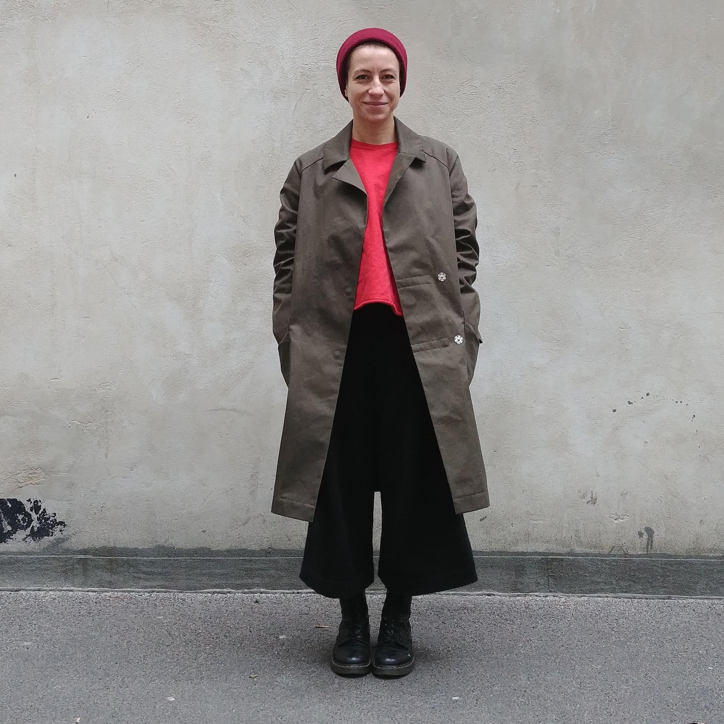 Berlin Coat, Schnittmuster, Nähanleitung, DIY Mantel, Trenchcoat Schnitt, Jackenschnitt, Mantelschnitt