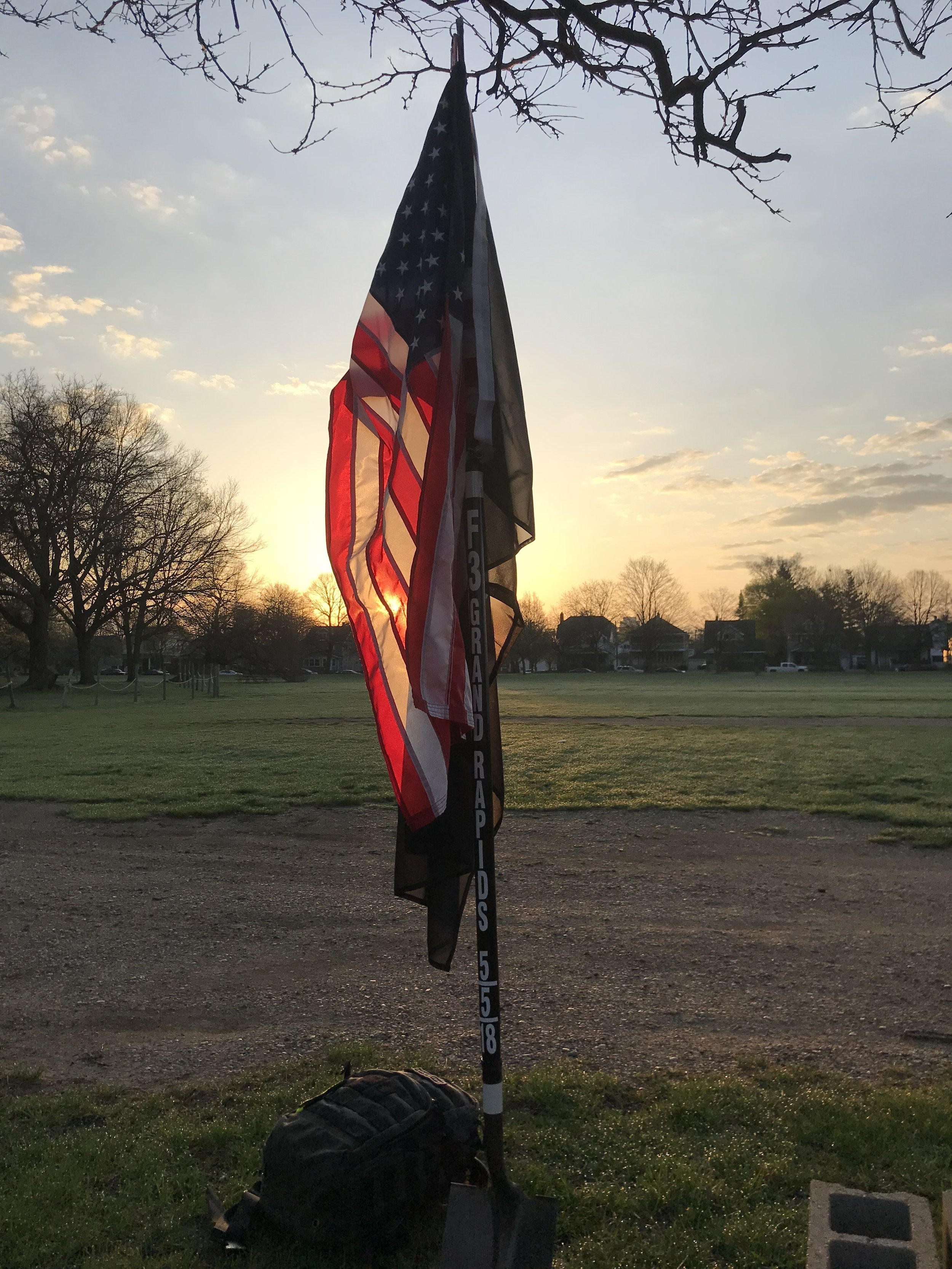 Shovel Flag - F3GR