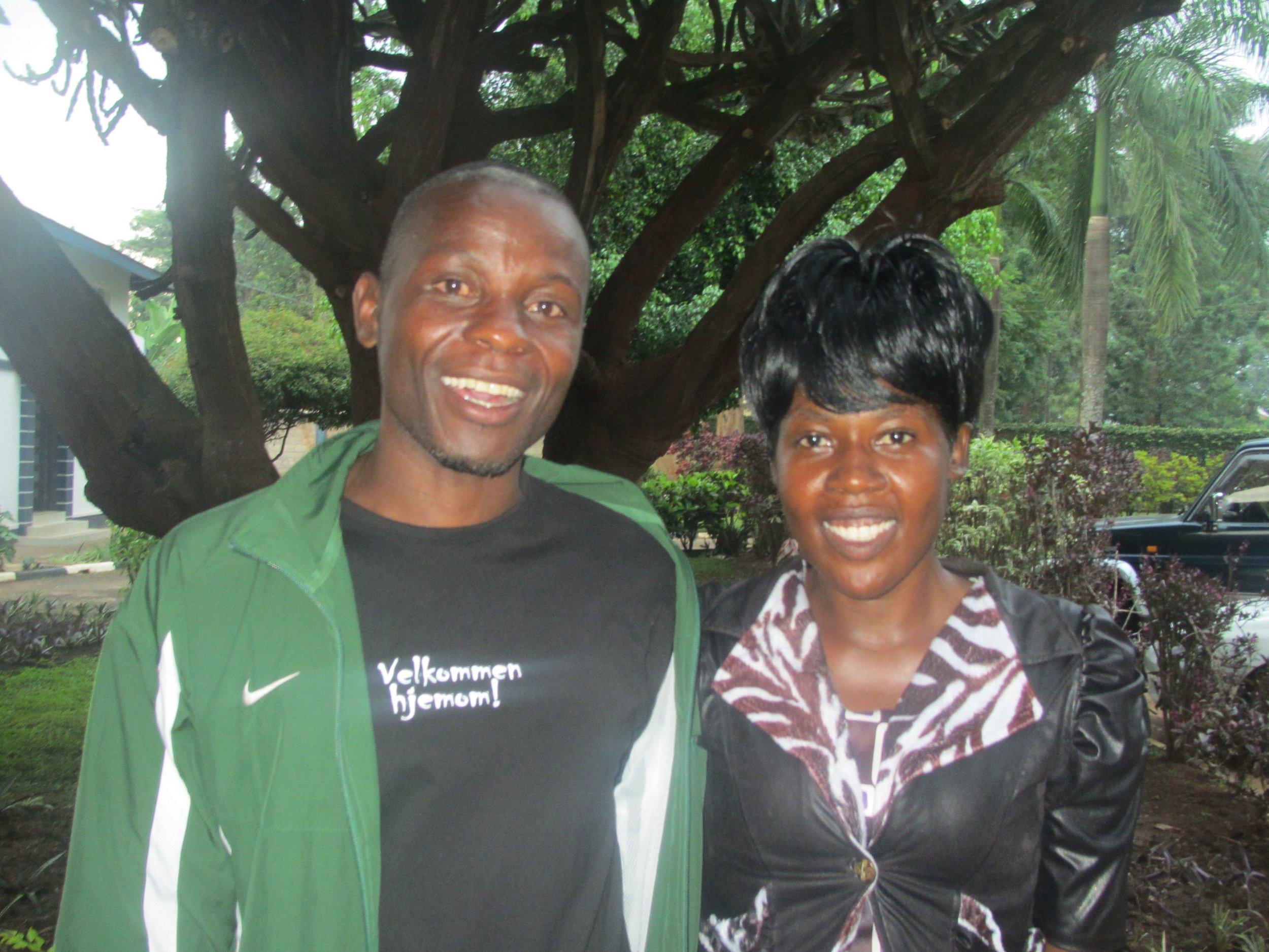 CROSO Graduates Koba George and Areto Carol