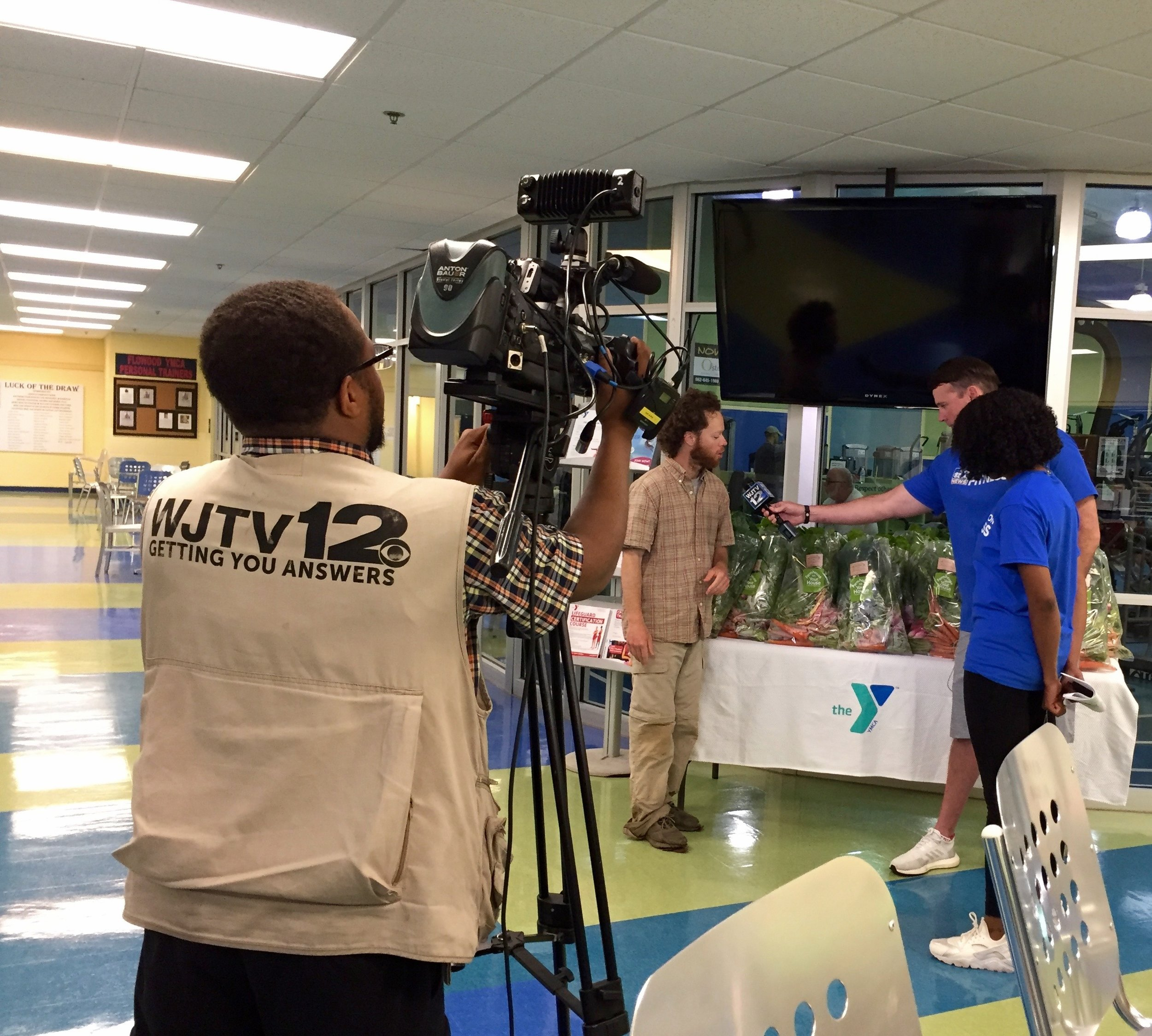 Flowood YMCA offers Garden Farmacy - WJTV, April 2019