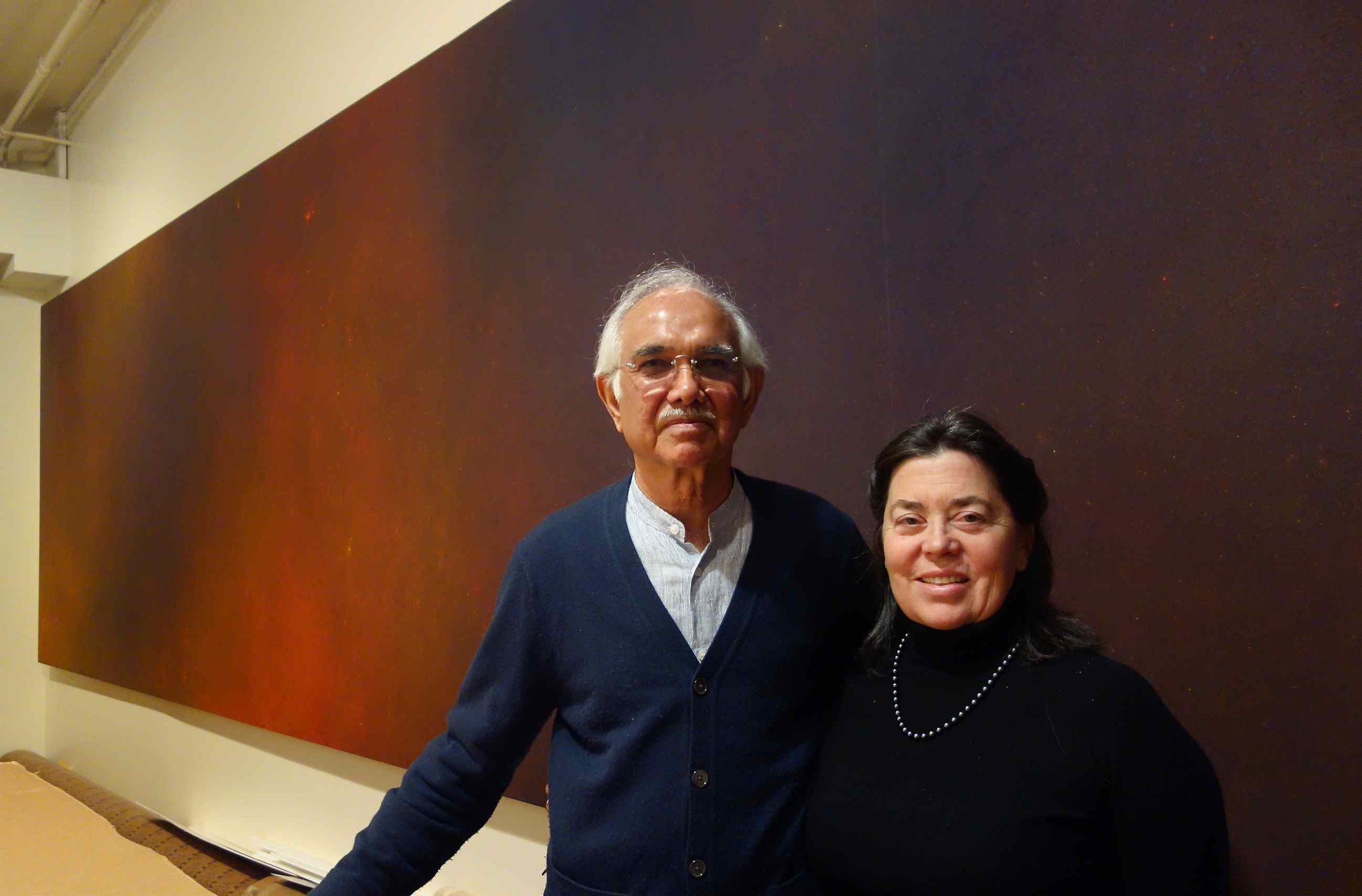Natvar and Janet Bhavsar