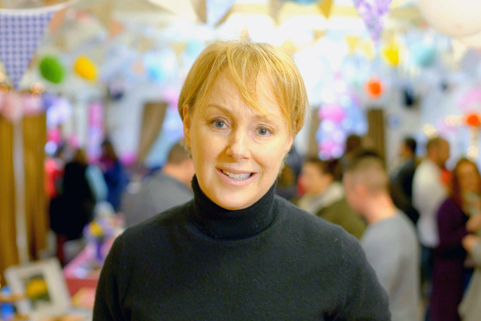 Prevent breast cancer with Sally Dynevor promotional video filmed by Bigtank Video Productions.JPG