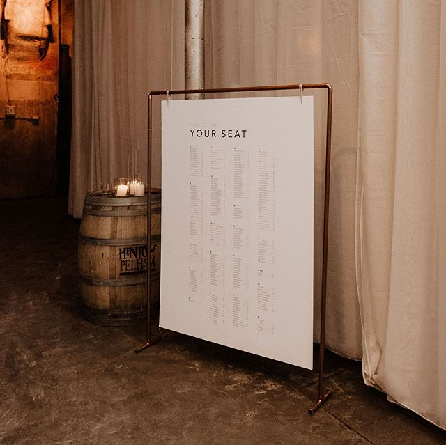⁣A grand guest list requires a mega seating chart! And @kerbel.design delivered! For those of you who don't know - Lauren joined our team last year as graphic designer and calligrapher. From signage, to menus, to placecards, to hand-lettering - she's been creating some truly stunning and unique work for our client. Very grateful for how our team has grown to provide in-house services like this to our clients so our vision stays unified ⠀ ⠀ Photo @katrizzaweddings | venue @distilleryto ⠀ #weddingsignage #wedding #weddingday #weddingphotography #bridal #weddings #weddinginspiration #weddingideas #weddingphoto #weddingstyle #dreamwedding #weddingplanner #torontoweddingplanner #torontowedding #weddingplannertoronto #fineartwedding #weddingflowers