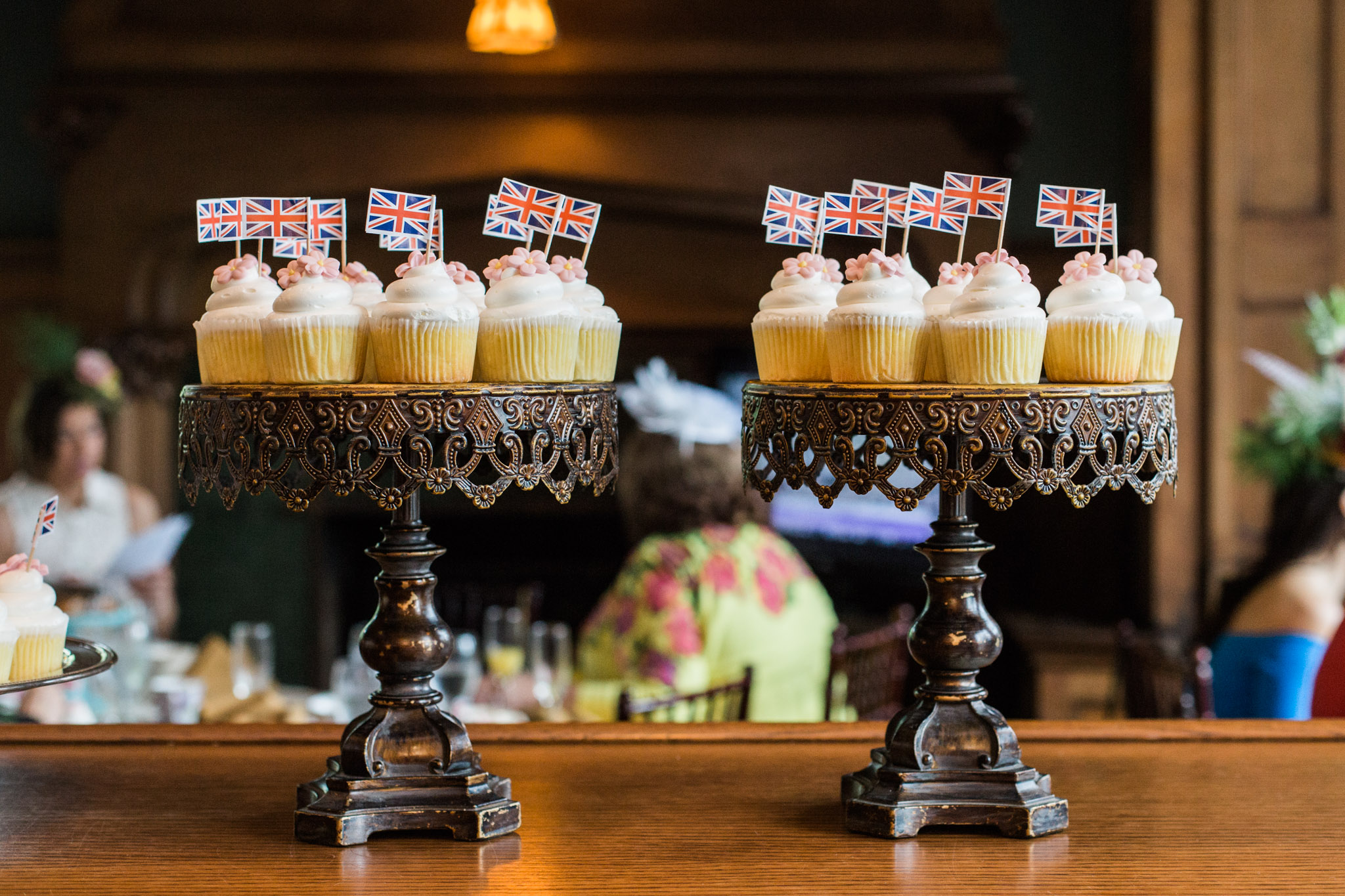 Pittsburgh Wedding Planner - Royal Wedding Watch Party - lemon elderflower cupcakes by Priory Fine Pastries