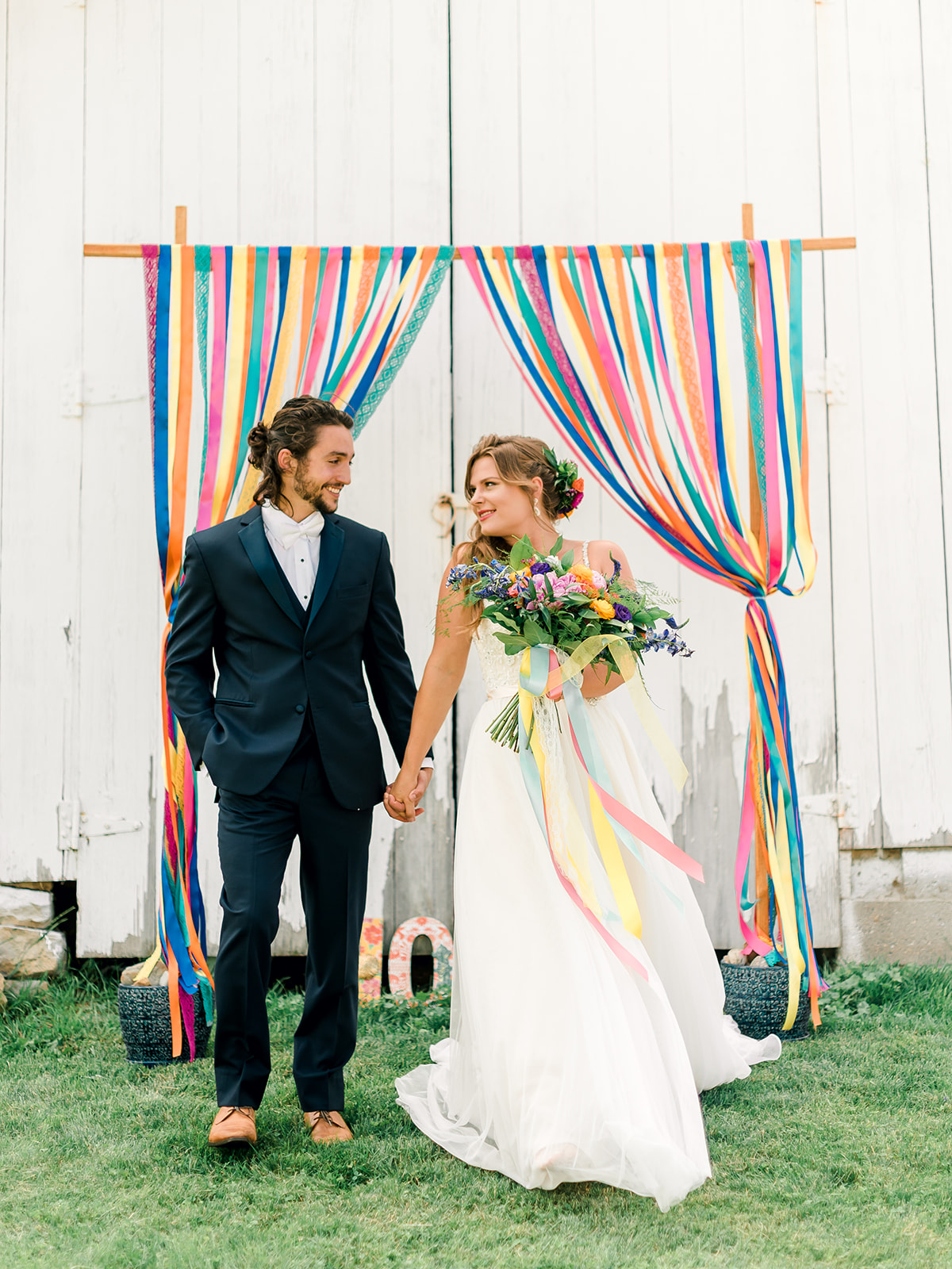 Fun & Colorful Barn Wedding Ceremony at Heaven Sent Farms in Avella Dawn Derbyshire Photography (17).jpg