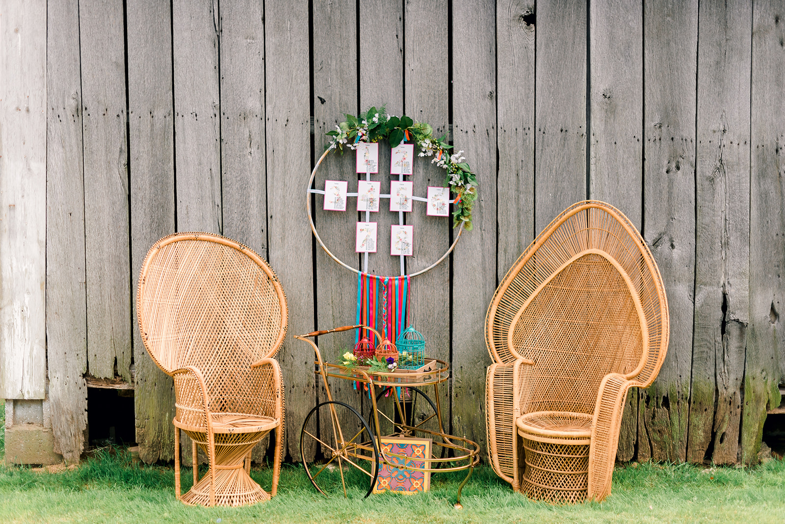 Fun & Colorful Barn Wedding Lounge at Heaven Sent Farms in Avella Dawn Derbyshire Photography (14).jpg