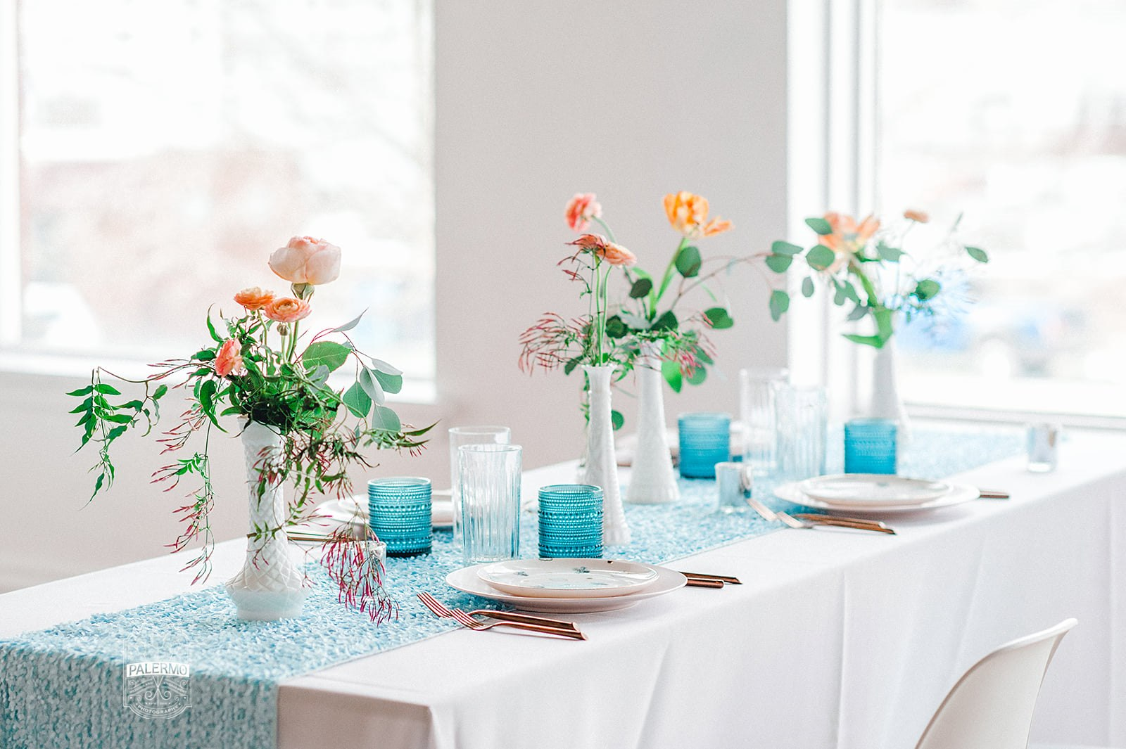 Blowouts, Bubbly & Brunch Pink & Blue Bridal Shower Inspiration at Bar Marco and Glow Blotique (12).jpg