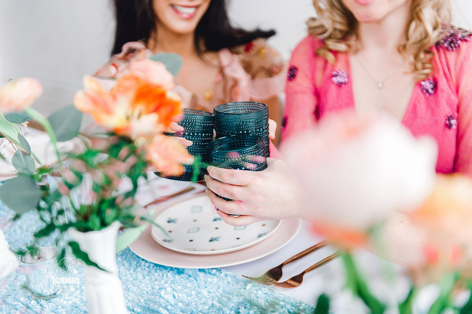 Blowouts, Bubbly & Brunch Pink & Blue Bridal Shower Inspiration at Bar Marco and Glow Blotique (33).jpg