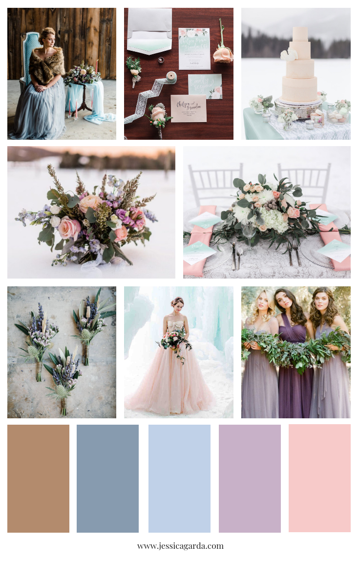 Winter Wedding Color Combinations | Pittsburgh Wedding Planner