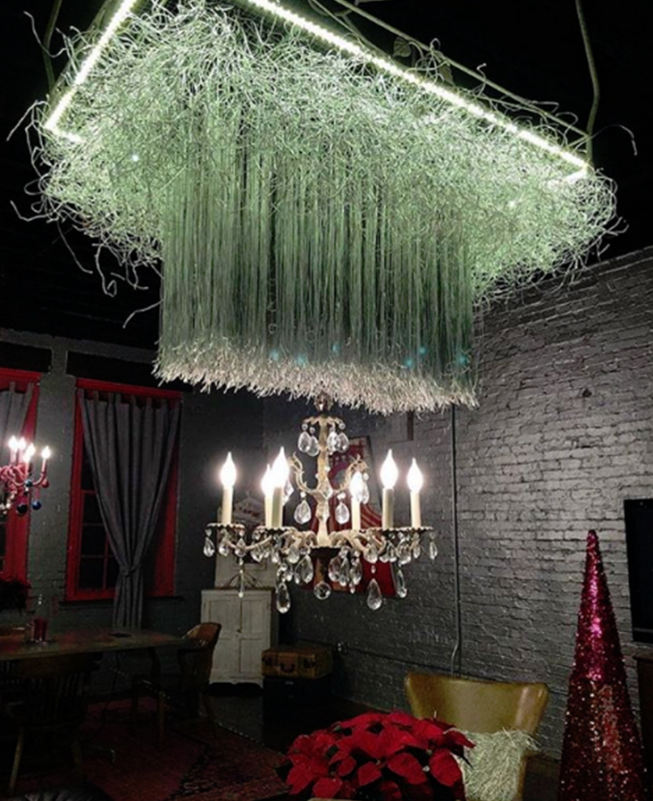 The Prosecco Room Custom Light Fixture