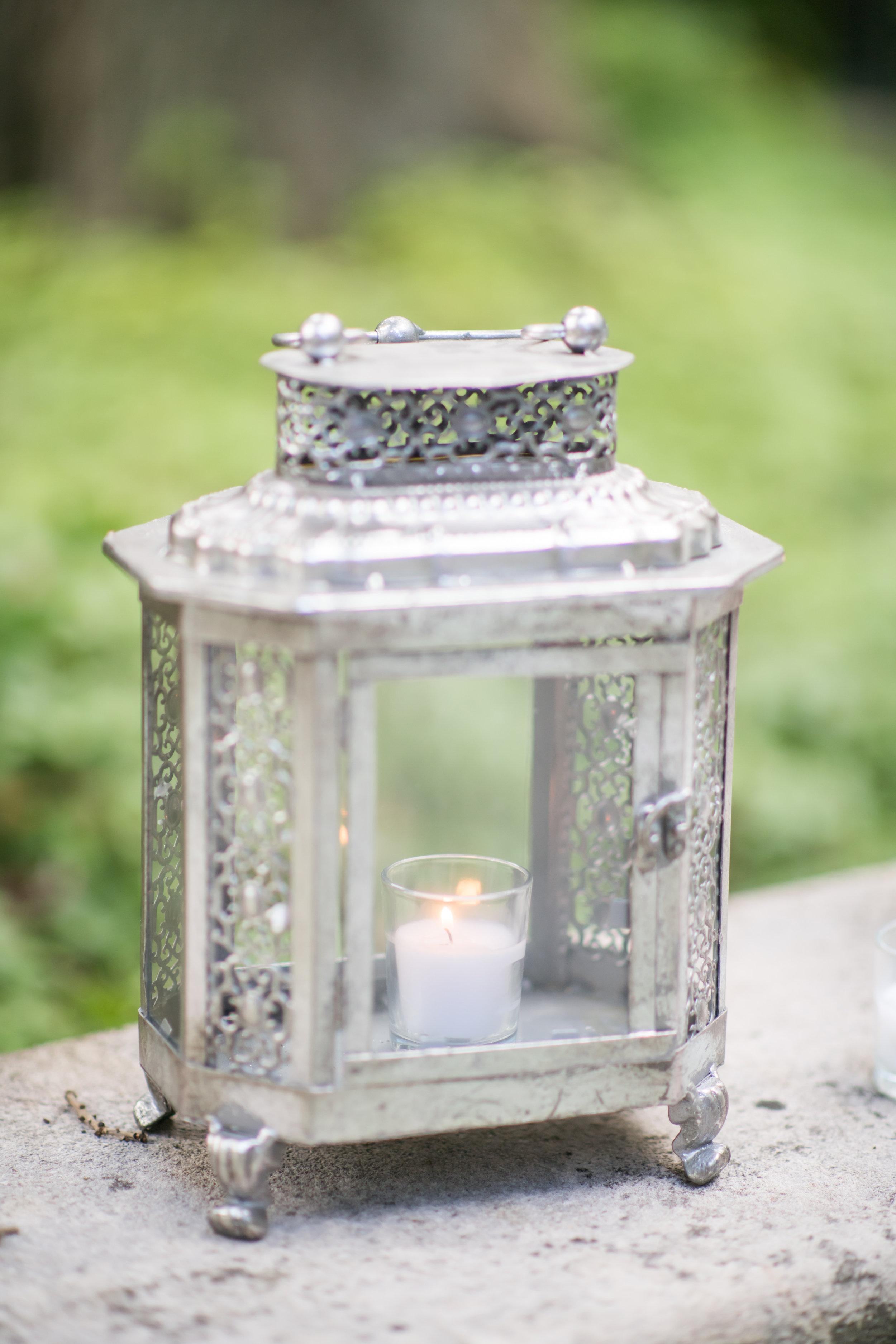 Pittsburgh Wedding Planner Mansion in Butler Lantern Decor