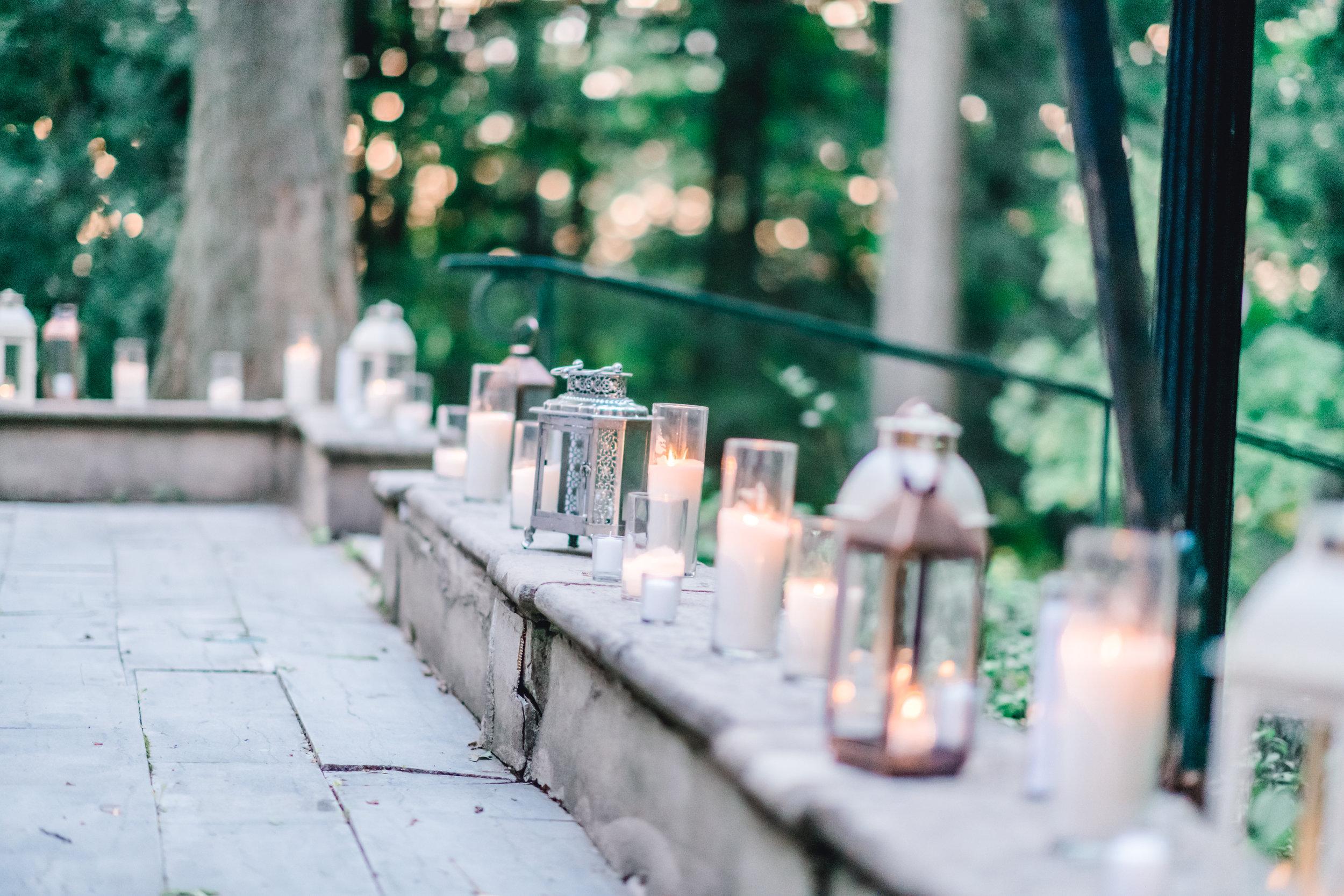 Pittsburgh Wedding Planner Mansion in Butler European Old World Inspiration Lantern Decor