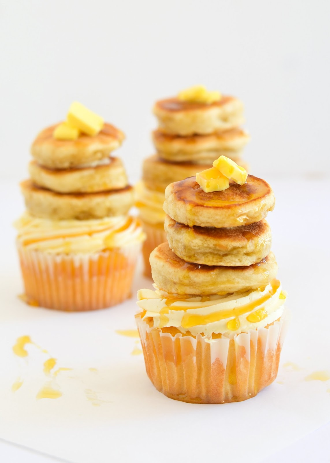 Not for me at all... - There isn't anything about a pancake on a cupcake that I want to try. We don't compliment one another, nor are we similar.However, I guarantee it is all someone has ever dreamed about.