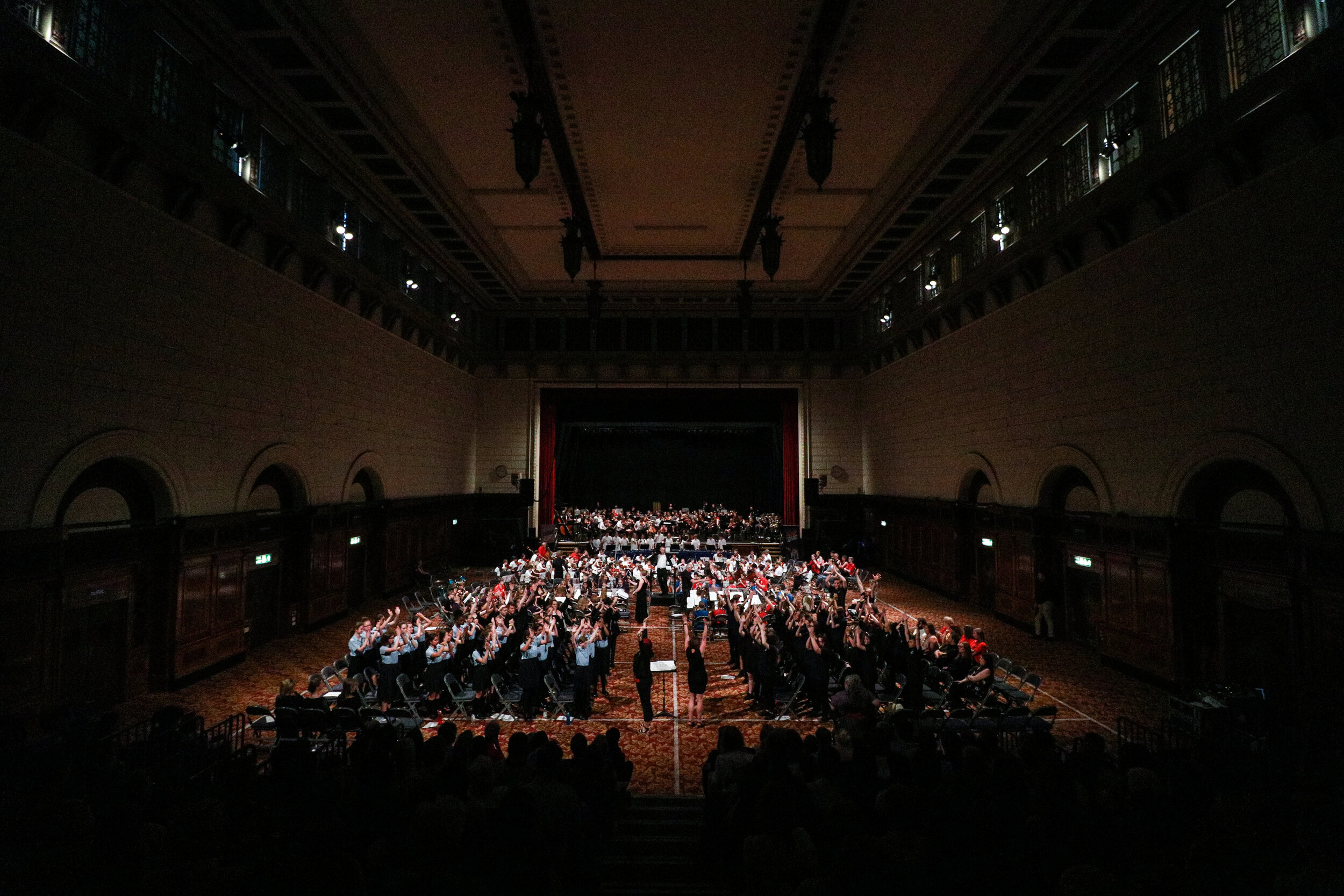 Hundreds of young musicians perform at Southampton Guildhall as part of 2019's Celebration Event.