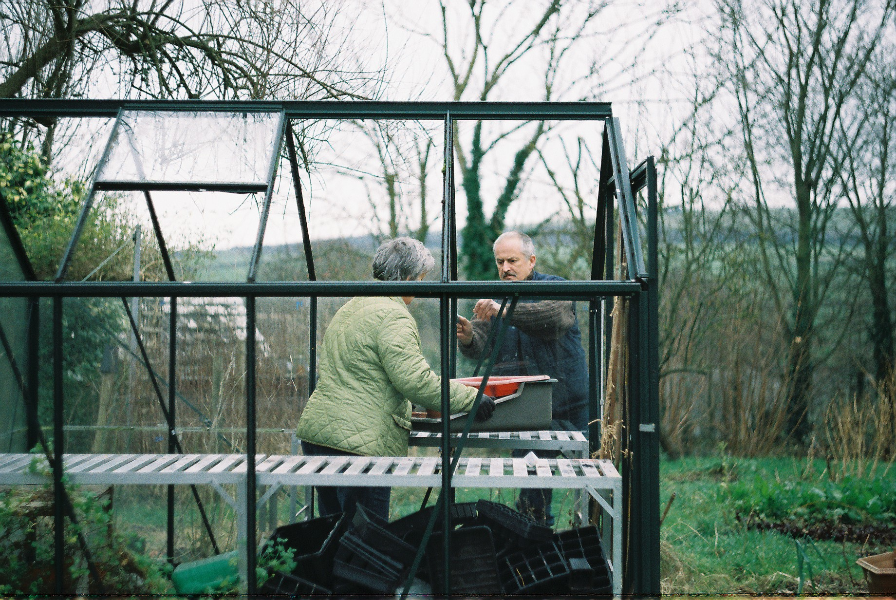 The Build // Greenhouse Diaries #1  | The Foraged Life