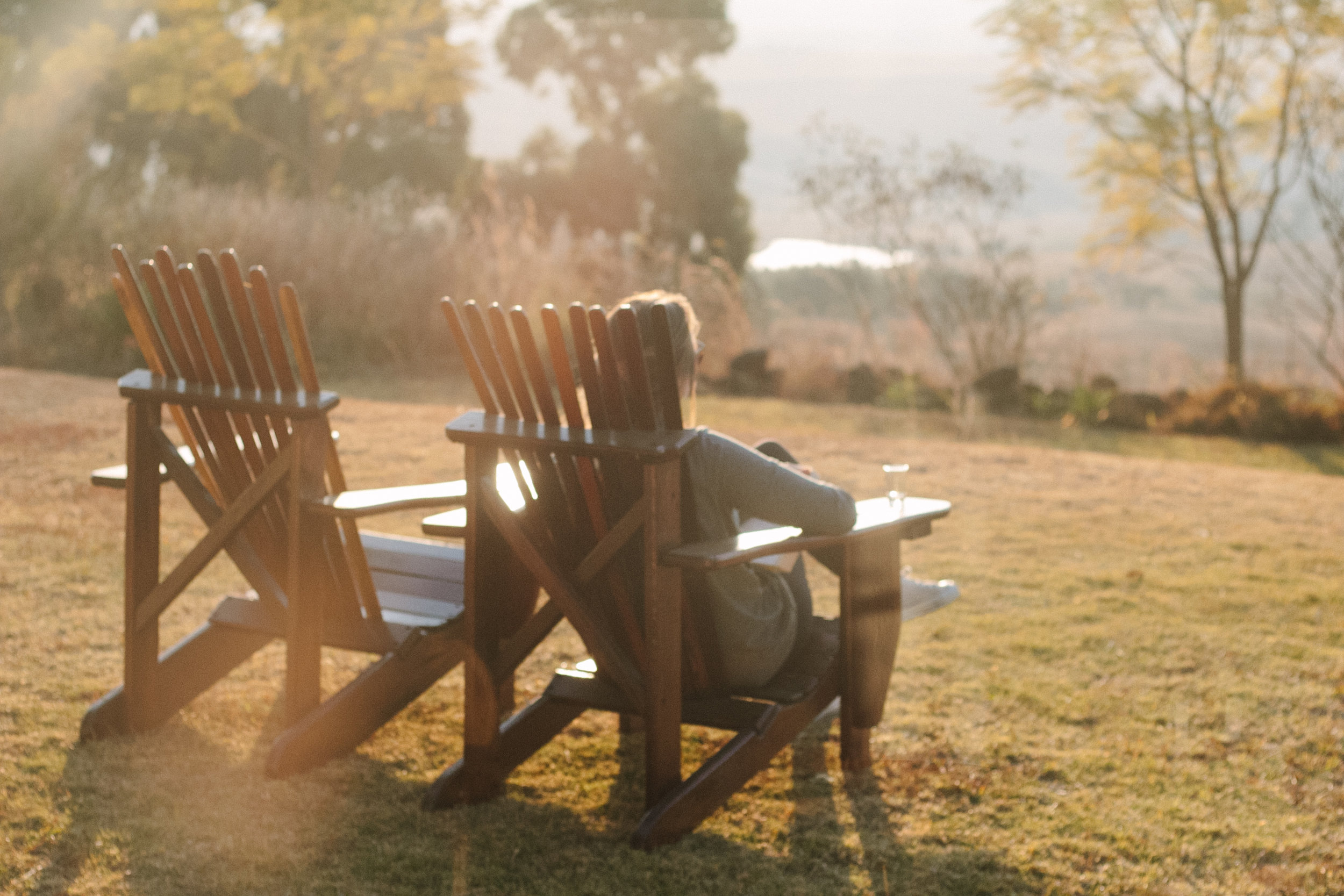 Enjoying the sun / An Inspiring Stay at Antbear Eco Lodge // Drakensberg, South Africa