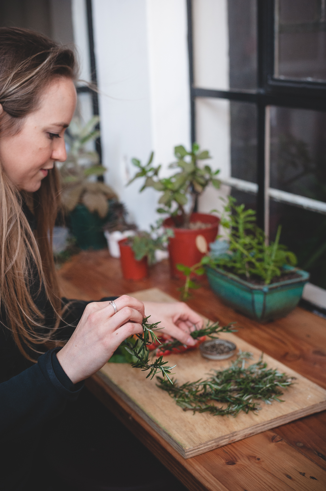 Using what you can find - Rosemary | How to Plan an Eco-Friendly Event ft. Yonder Collective | Eco-Friendly living by The Foraged Life