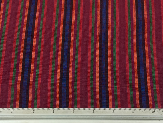 guatemalan-fabric-handwoven-100-cotton-wineblueredorangegreen-stripes-handmade-in-guatemala-guatemalan-fabric-by-the-half-yard-57db60fb4.jpg