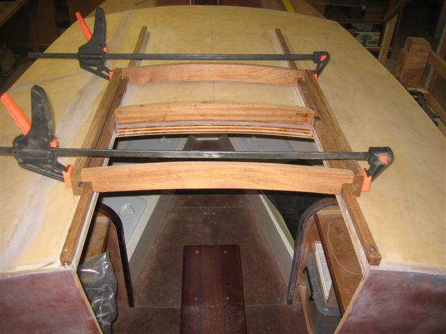 09. Sliding hatch framework before gluing. 8-8-11.jpg