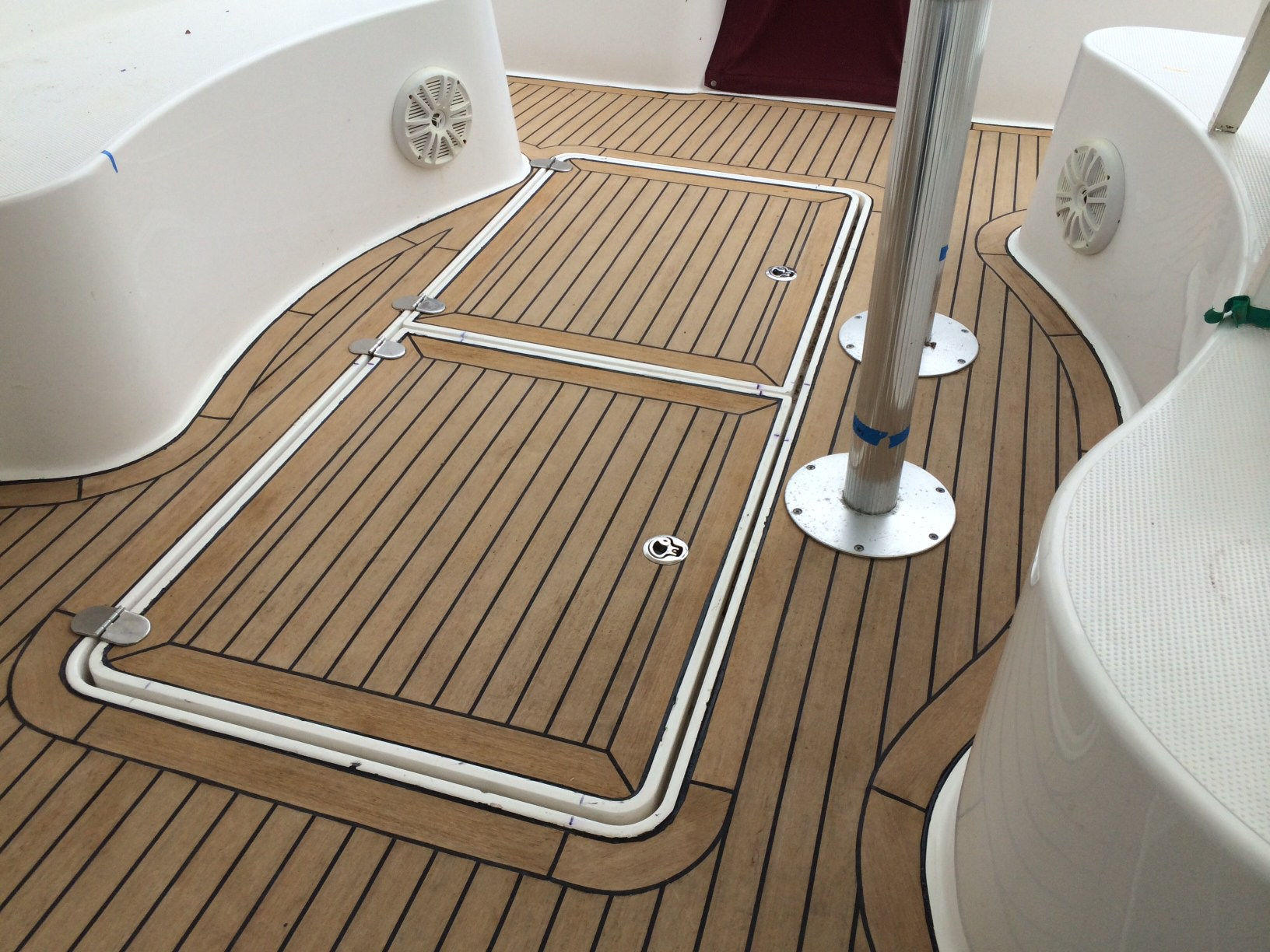 Dillon Francis Oberholzer Synthetic-Teak-Decking-with-Nuteak
