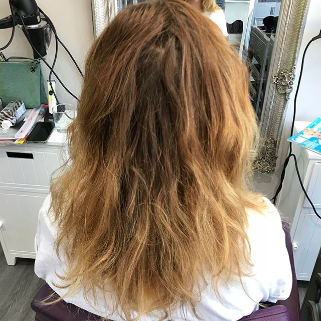 Brave plunge for Melissa😮#janet@TheParlour #matrix #lowlights #newlook#layers #lob