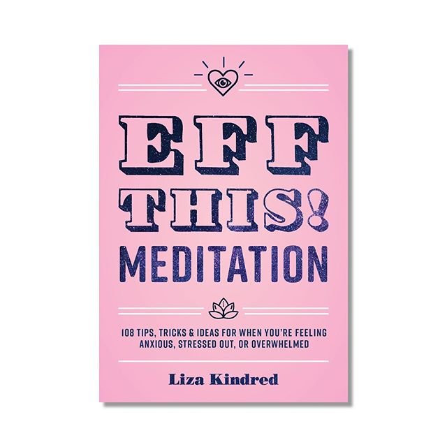 "Oh hey my boooooook is available for preeeee-orrrderrrrrr! 😀I am so excited to share this!!! It's FULL COLOR on the inside and CHOCK FULL of super helpful exercises (meditations, breathing exercises, etc) for stress and anxiety–half take 5 minutes or less! ✋🏽(Link in bio, obvs) • Deets: • 📿""EFF THIS! Meditation: 108 Tips, Tricks, and Ideas for When You're Stressed Out, Anxious, or Overwhelmed"" ships Oct 22 • 📿I originally wrote the book for my monkey @nikakindred because she turned 18 and was going out into the world and I wanted to give her a graduation gift that would be actually helpful to her. I think this really is, and I hope many people give it to people they love, too. • 📿A whole lot of YOU contributed to the book along the way. I can't wait for you to see how it turned out! And if you contributed, your name is in the book! • 📿Preorders help a LOT–the more of them, the more Amazon will promote it. So if you preorder it, I will be eternally grateful🙏 • and.... • 📿For everyone who preorders, there will be a lot of giveaways! Buy now, get free ish soon! ;) • THANK YOU for your support!!!! I am proud of this book and can't wait to book these practices out into the world. So pumped!"