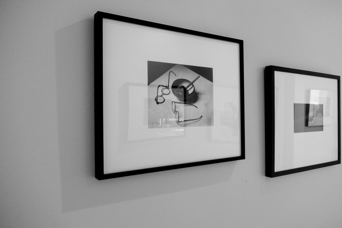 """""""Editioning"""" was a new concept in photography and maybe it's an archaic notion; the masters just printed a print when they wanted one… (Kertesz' """"Mondrian's Pipe and Glasses""""). In the digital age, perhaps one original is enough."""