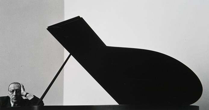 Arnold Newman - Igor Stravinsky, 1946[Watch Video.]