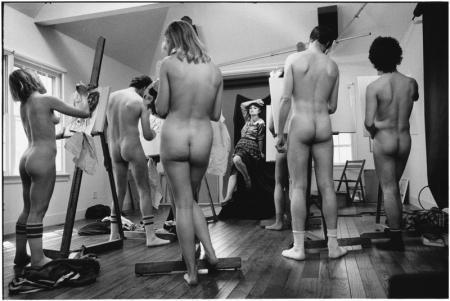 "Elliott Erwitt, ""The Painting Studio"" East Hampton, NY, 1983"