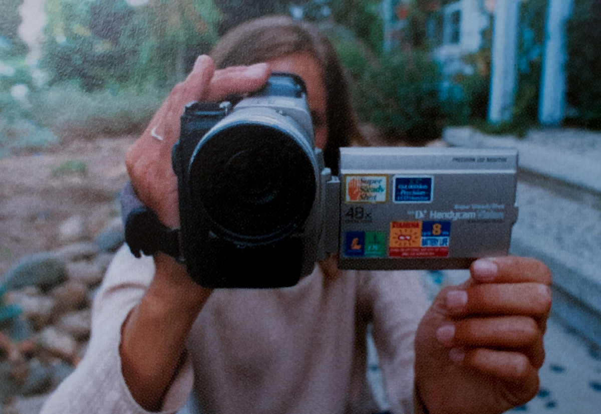 Old school DV camcorder, circa 2001