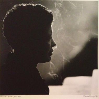 Billie Holiday, by Herman Leonard (1935)