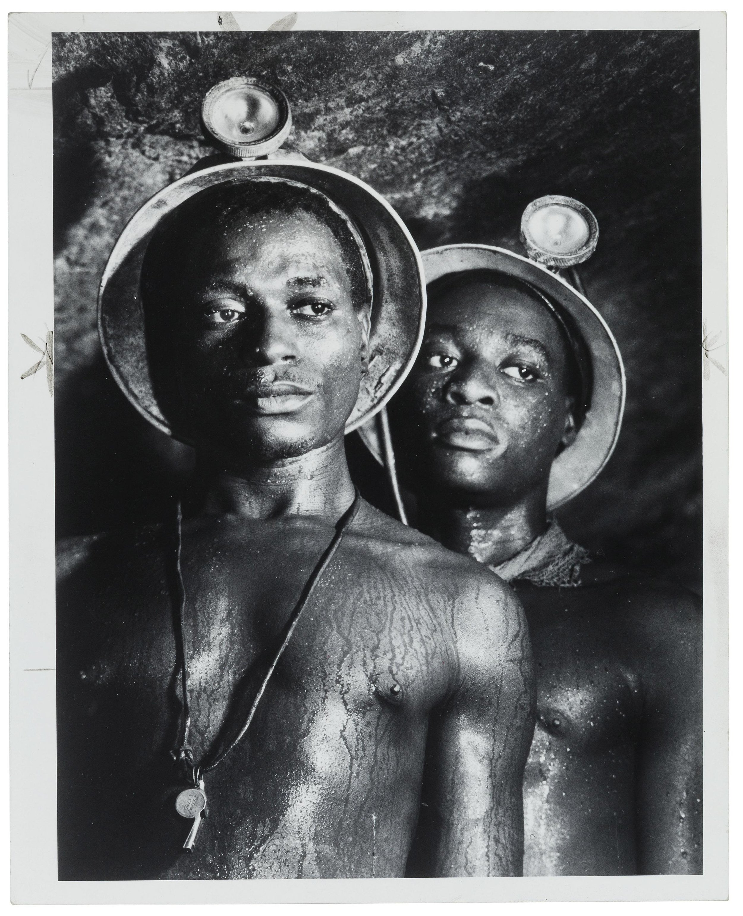 Gold Miners/South Africa by Margaret Bourke-White (1950)