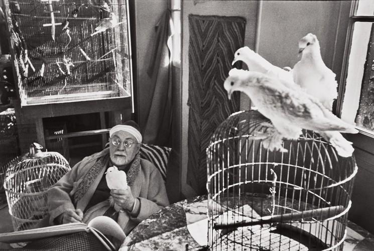 Matisse, by Henri Cartier-Bresson (1944)