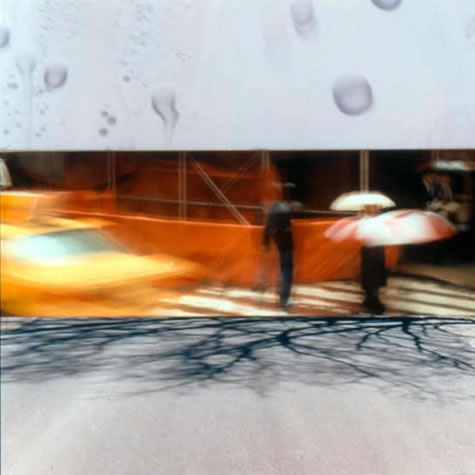 """Yellow Taxi"" (2003): The highly constrained photographic poetry of Gabrielle Israelievitch: three images, straight cuts."