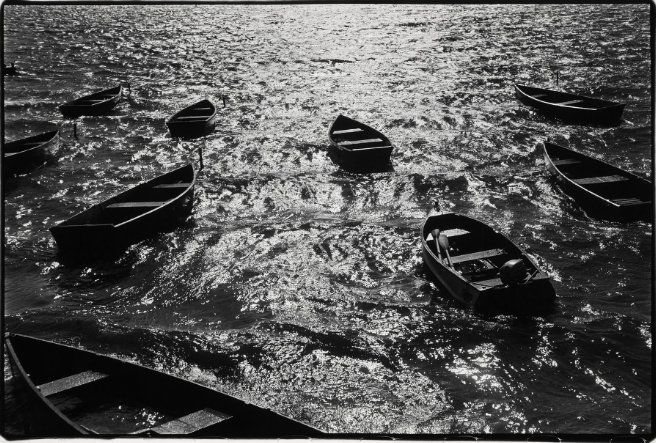 Lake, New York State, 1952 by Stettner.