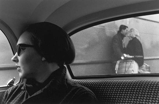 On a Dutch Ferry, Holland, 1958