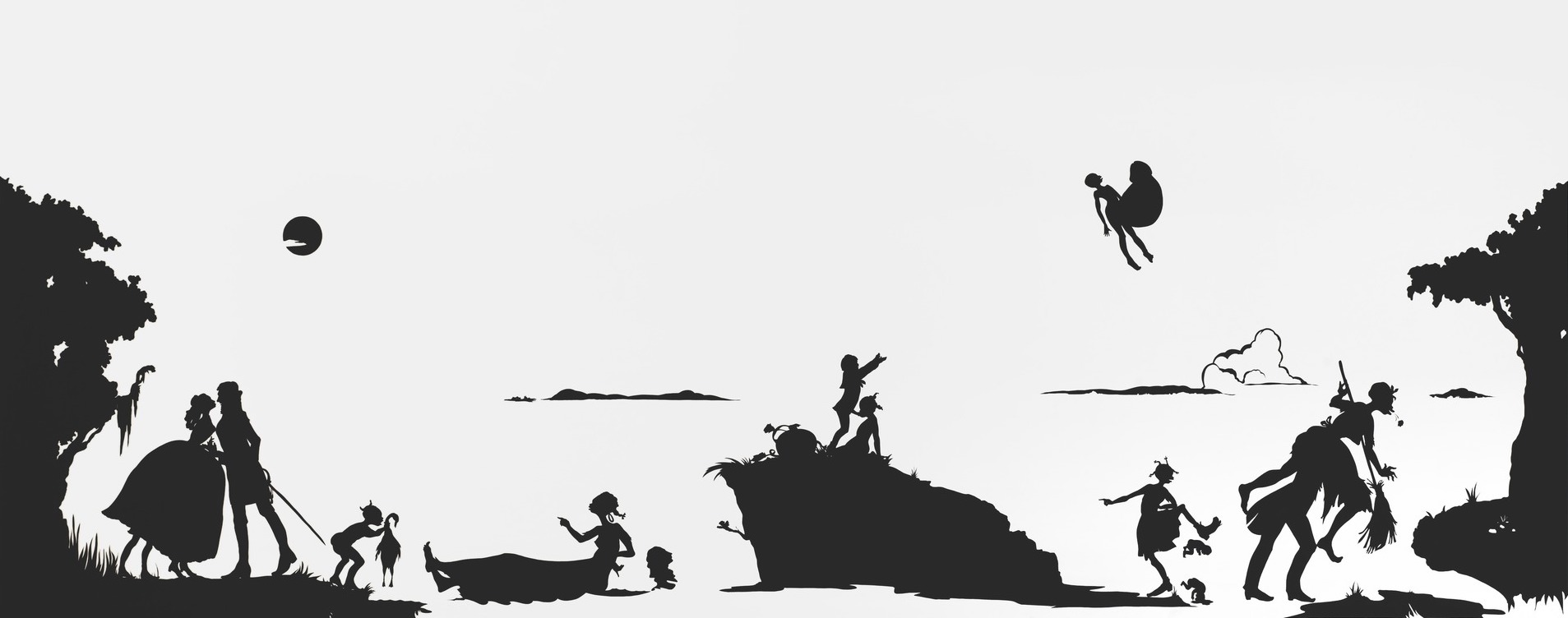 """Kara Walker exploded onto the art scene in 1994 at the age of 24 with work that shocked many, and at the same time, made her one of the leading artistic voices on the subject of race and racism.""   https://westburyarts.org/celebrating-black-history-kara-walker/"