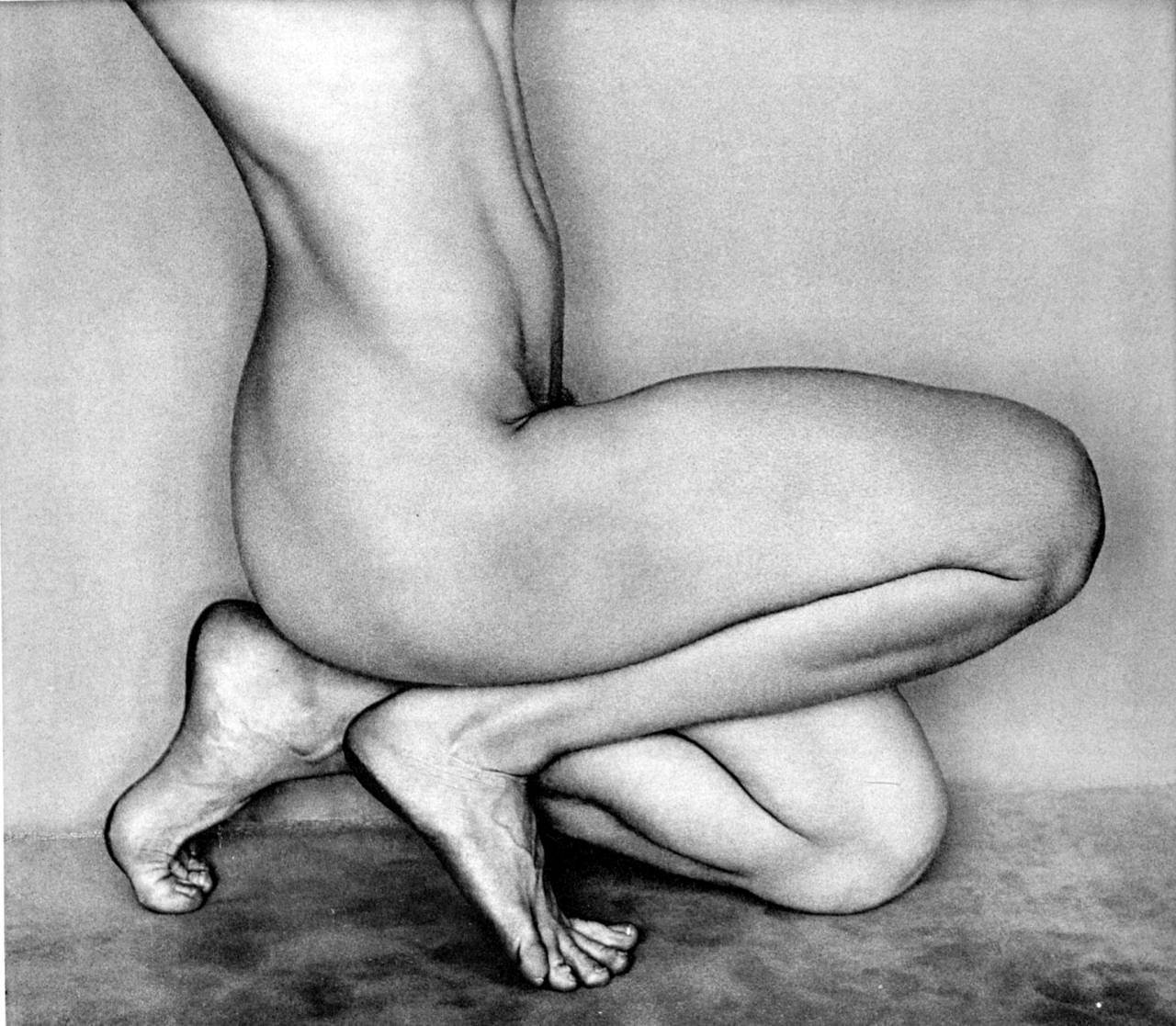 Edward Weston, Nude (1927)