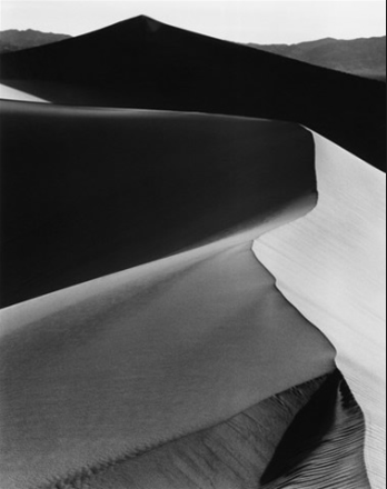 Sand Dunes, Sunrise, Death Valley (1948) by Ansel Adams