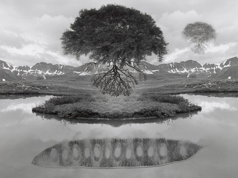 Jerry Uelsmann - American Photographer. (b. 1932 ) Reknown for pioneering surreal mutiple-exposure prints.