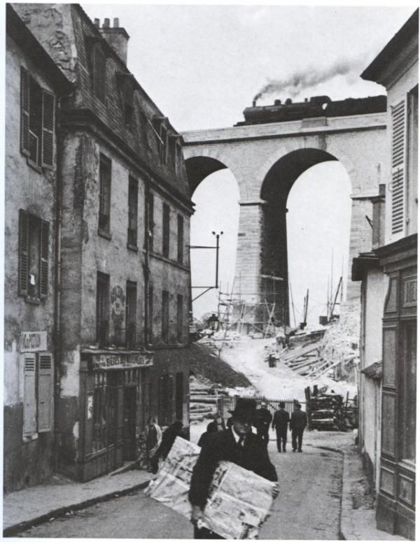 Meudon - Famous image by Kertesz