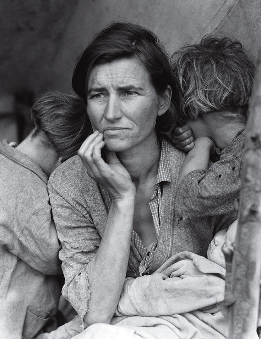 """Dorthea Lange, """"Migrant Mother"""" (1936)"""
